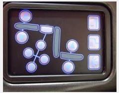 座椅調整按鈕
