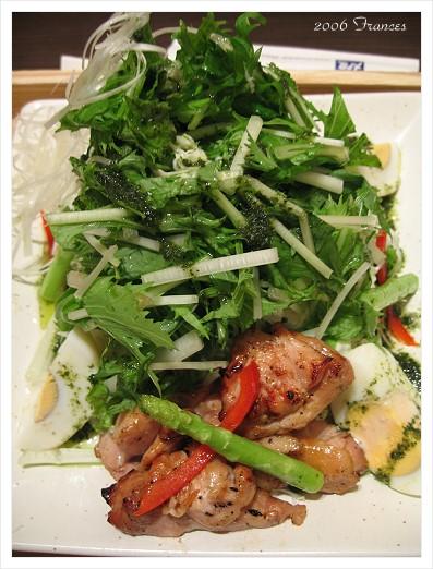碳烤雞肉沙拉定食 薄荷口味