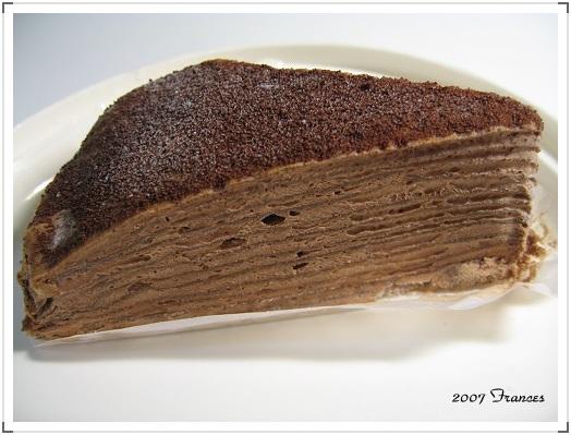 黑嘛嘛的巧克力蛋糕~~