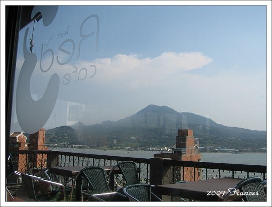 咖啡廳內的視野