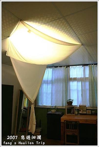 巧妙的布幔遮光