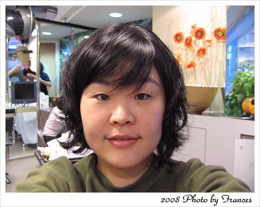 20080202 剛剪完短髮的樣子