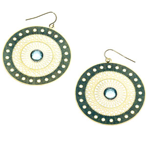 Accessorize - Aztec Disc Earrings.jpg