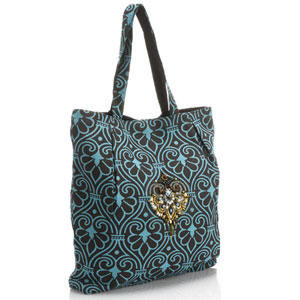 Accessorize - Dakota Outline Print Embellished Shopper.jpg