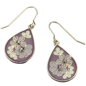Accessorize - Enamel Floral Teardrop Earrings.jpg