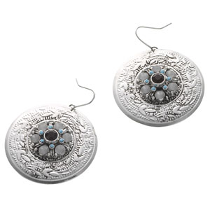 Accessorize - Ethnic Dakota Shield Earrings.jpg