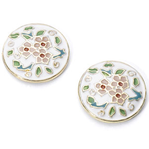 Accessorize - Floral Button Stud Earrings.jpg