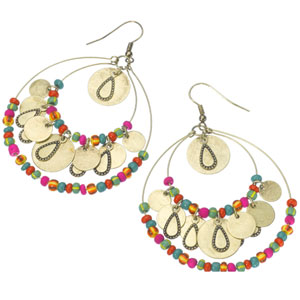 Accessorize - Fluoro Bead Hoop Earrings.jpg