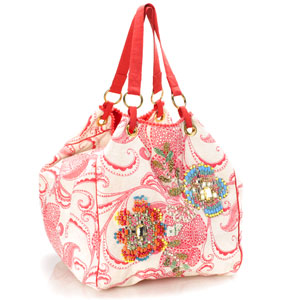 Accessorize - Pixelated Floral Embellished Shoulder Bag.jpg