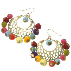 Accessorize - Pom Pom Fiesta Hoop Earrings.jpg