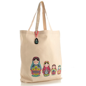 Accessorize - Russian Dolls Fairtrade Cotton Shopper.jpg