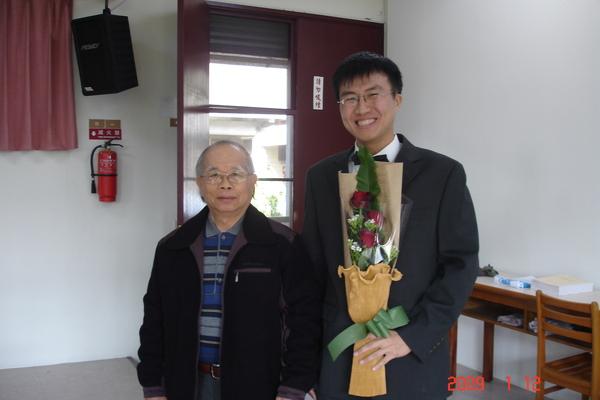 指導教授陳怡良師