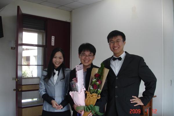 三位演講者