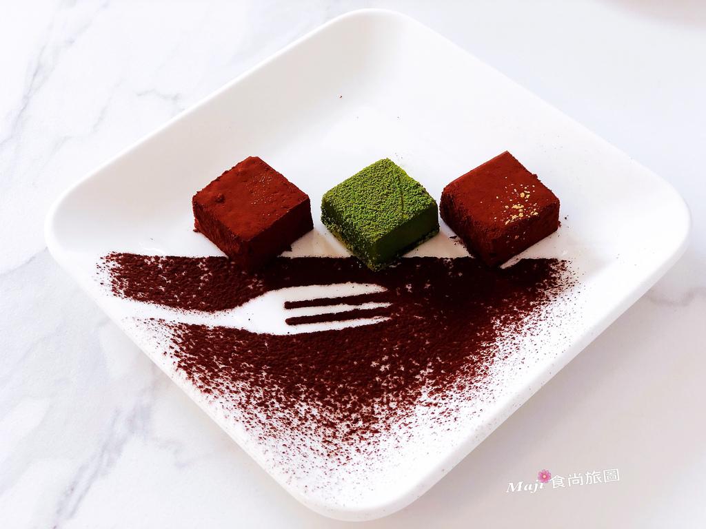 生巧克力拼盤