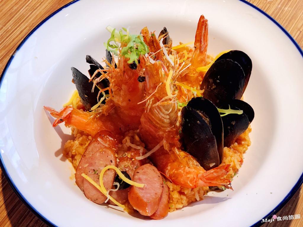 馬德里德腸海鮮燉飯