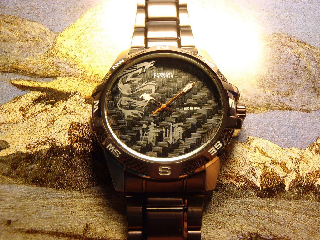 新加坡客人訂做的刻字手錶