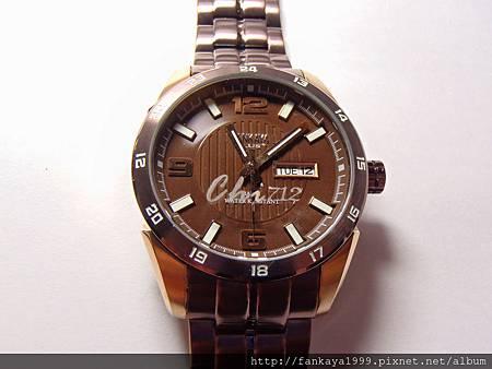 客人訂做的刻字手錶