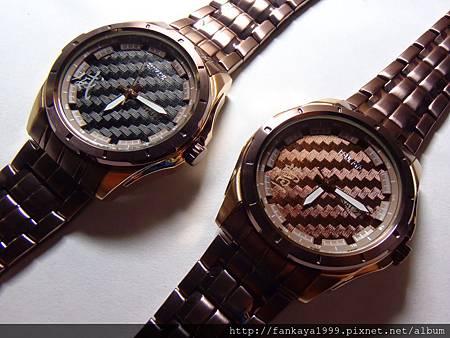 客人訂做送姊姊及姊夫的結婚對錶