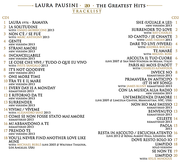 20 - The Greatest Hits