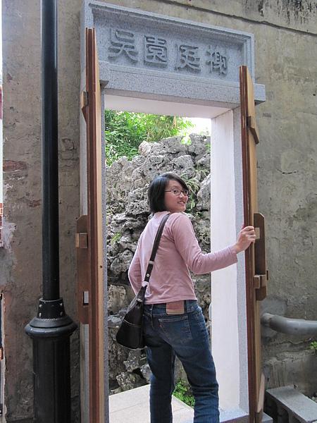 在台南逛古蹟