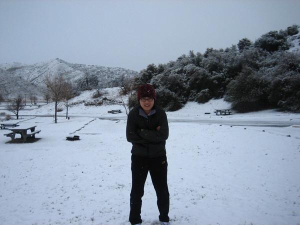 好冷~~~