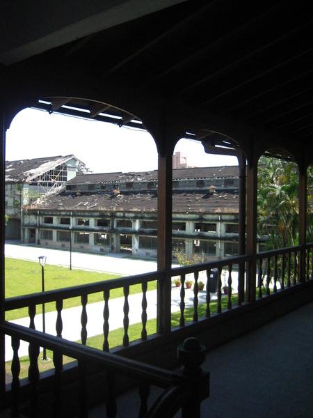 尚在整修的老建築