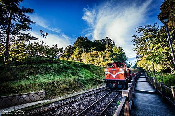 對高岳火車
