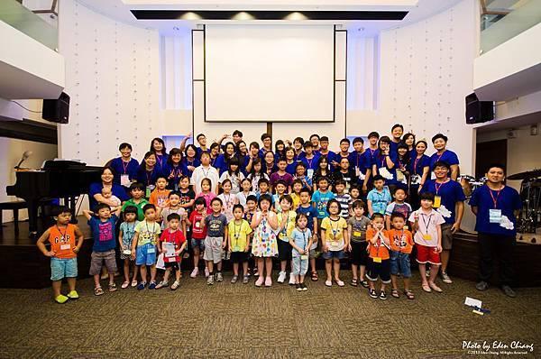 2013兒童營大合照