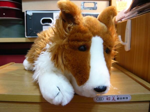 憂鬱牧羊犬玩偶