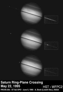 土星光環逐漸消失