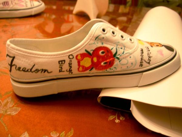 手繪布鞋-5