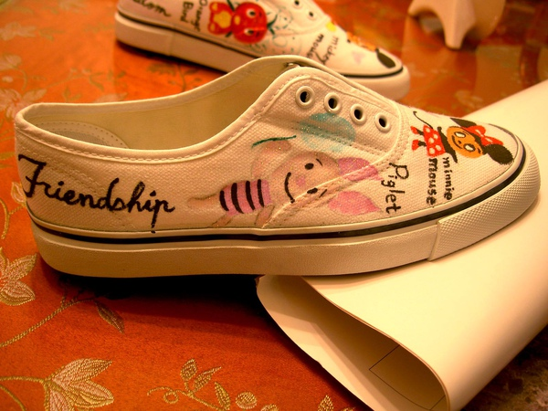 手繪布鞋-7