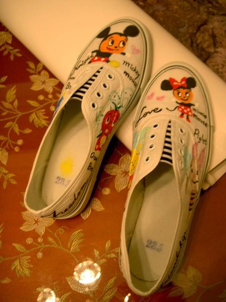 手繪布鞋-1