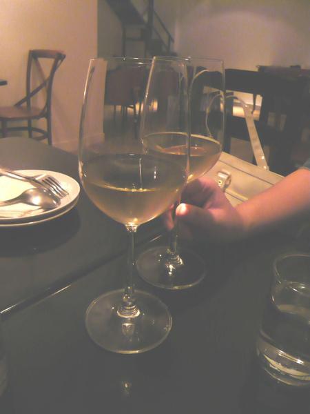 店家招待的白酒