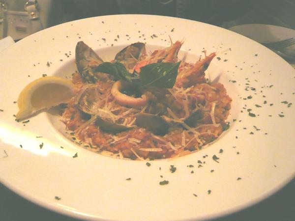 義式蕃茄海鮮燉飯