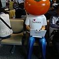FREE WIFI在桃園機場的廣告