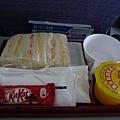 在華航吃超級難吃的早餐