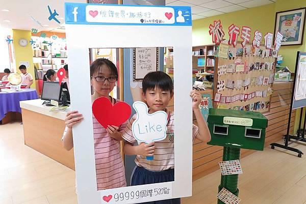 學生踴躍參與書展活動1