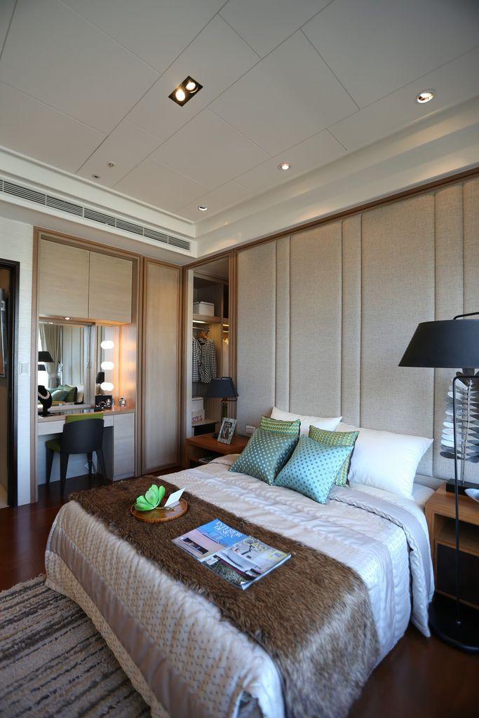 中和左岸/中和建案/紫金園-臥房的空間配置2
