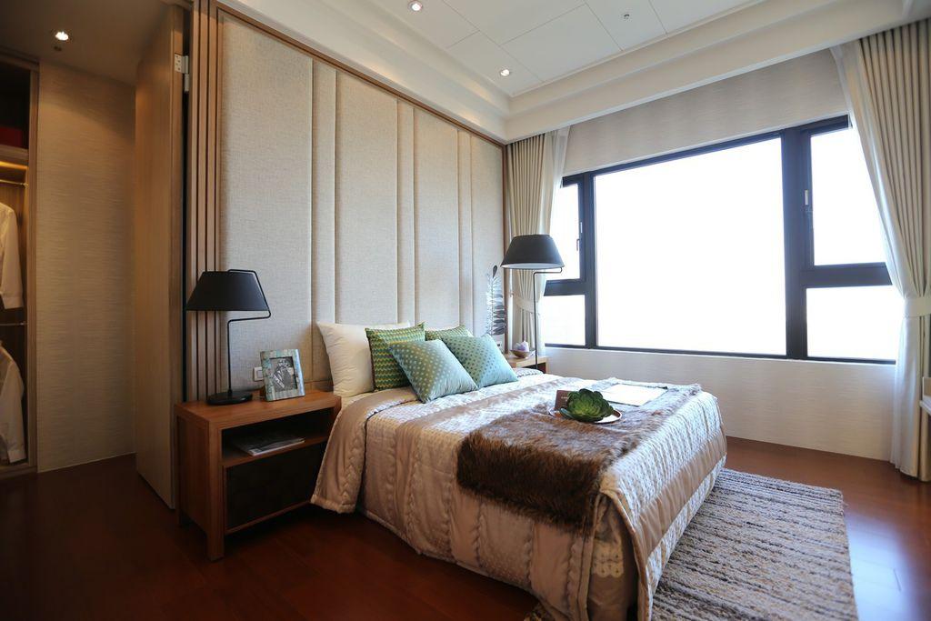 中和左岸/中和建案/紫金園-臥房的空間配置1