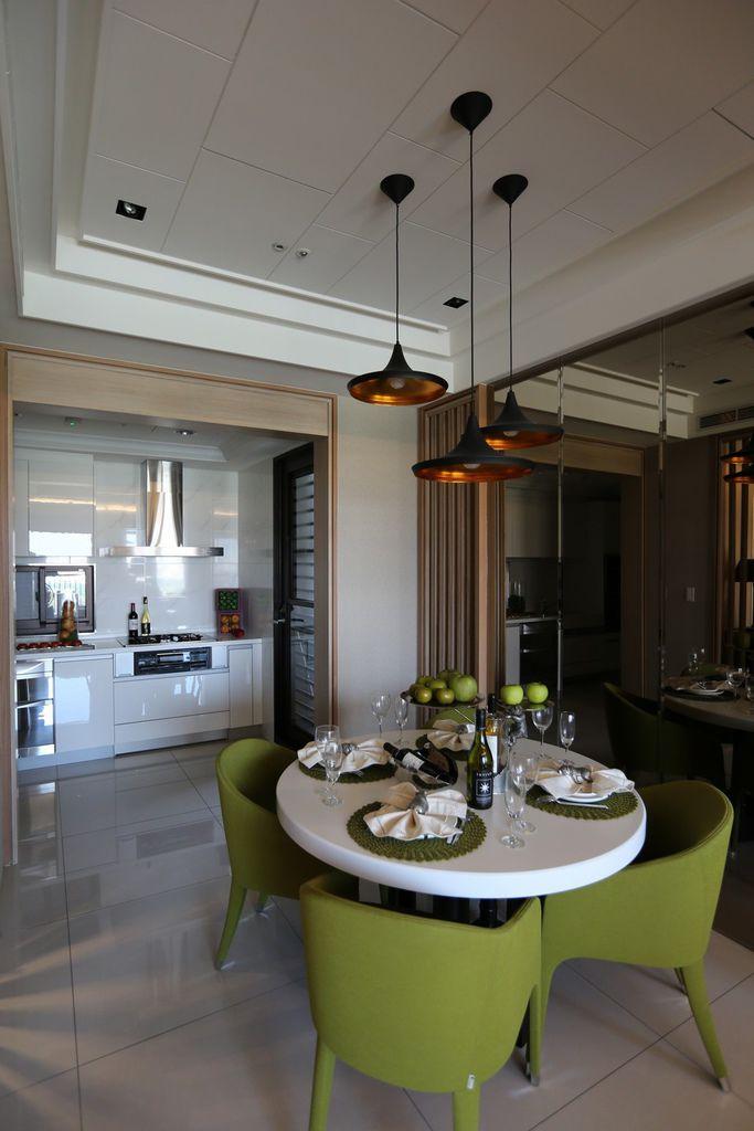中和左岸/中和建案/紫金園-餐廳與廚房空間