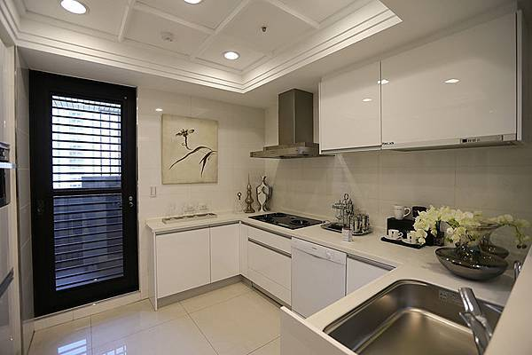 現代廚房的設備