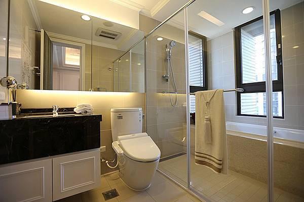 現代浴室的設備