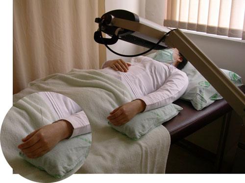 中國醫藥大學醫院-留針照射遠紅外線使用情形