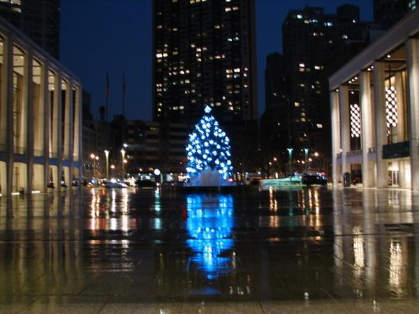 全紐約最漂亮的聖誕樹