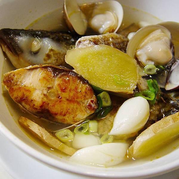 烏魚蛤蠣鮮湯