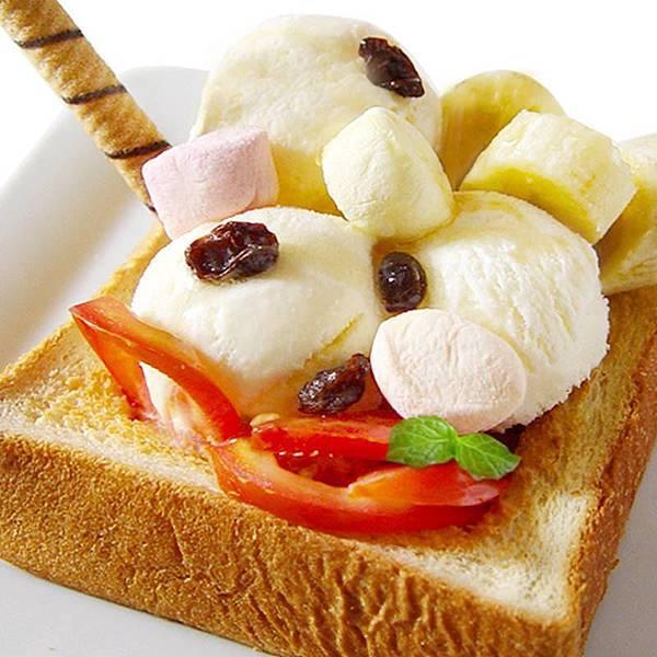 水果蜂蜜冰磚