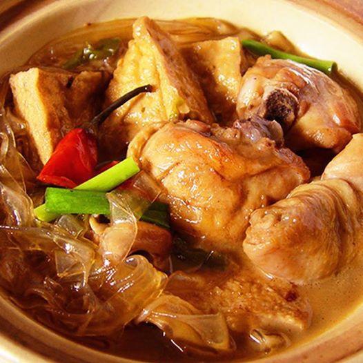砂鍋油豆腐雞