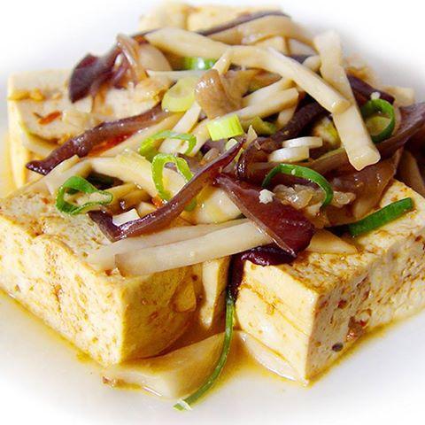 【厚生廚房】低卡低熱量、飽足感十足的鮮菇豆腐