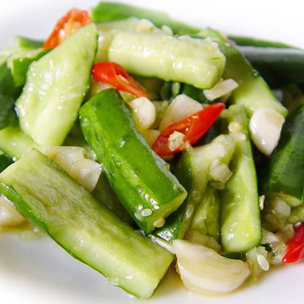 【厚生廚房】熱量低又可養顏美容的涼拌小黃瓜